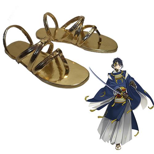 Touken Ranbu Online Mikazuki Munechika Chaussures Carnaval Cosplay