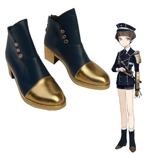 Touken Ranbu Online Maeda Toshiro Chaussures Carnaval Cosplay