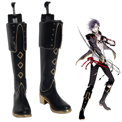 Touken Ranbu Online Akashi Kuniyuki Cosplay Shoes UK