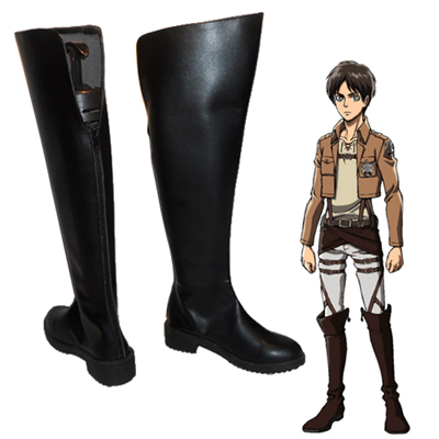 Zapatos Attack on Titan Eren Yeager Cosplay Botas