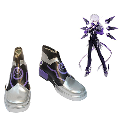 Elsword ADD Lunatic Psyker Cosplay Shoes UK
