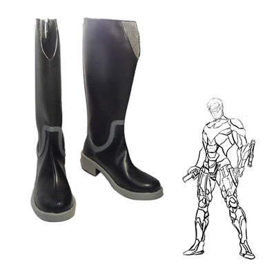 Justice League DC Comics Dick Grayson Faschings Stiefel Cosplay Schuhe