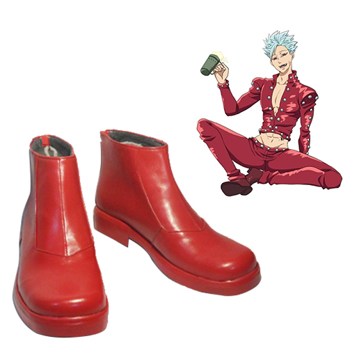 The Seven Deadly Sins Fox\'s Sin of Greed Ban Cosplay Sko Karneval Støvler