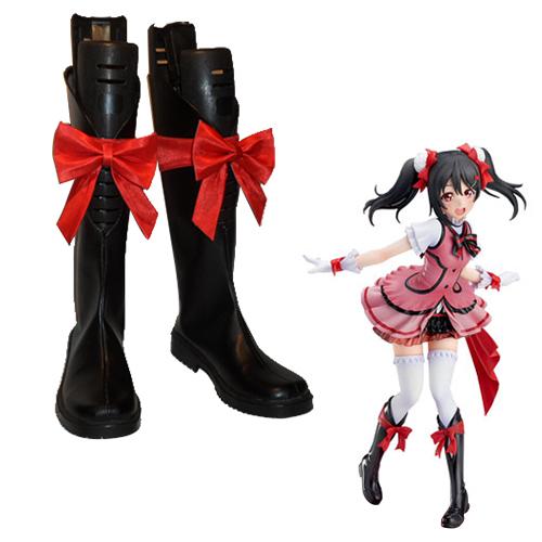 Love Live! KiRa-KiRa Sensation! Nico Yazawa Faschings Stiefel Cosplay Schuhe