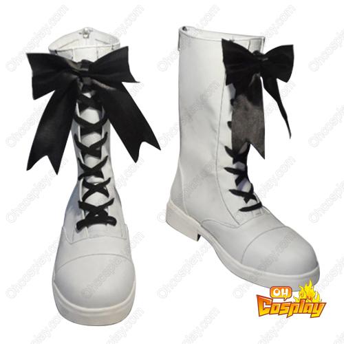 Black Butler Book of Circus Ciel Phantomhive Cosplay Sko Karneval Støvler