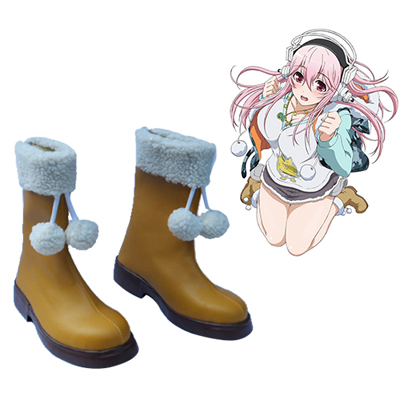 Soni-Ani: Super Sonico the Animation Super Sonico Faschings Stiefel Cosplay Schuhe