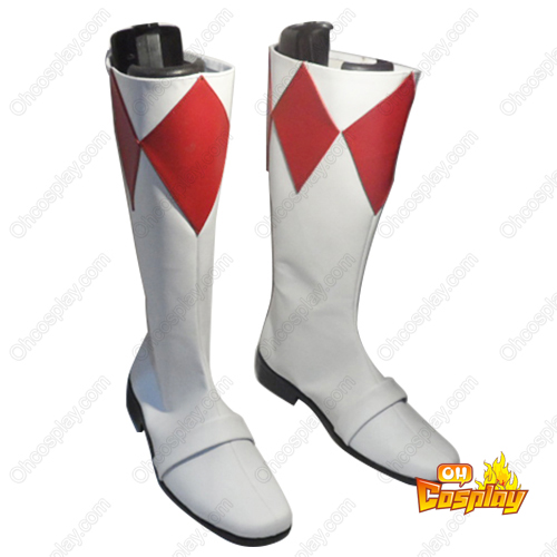 Kyōryū Sentai Zyuranger Tyranno Ranger Faschings Stiefel Cosplay Schuhe