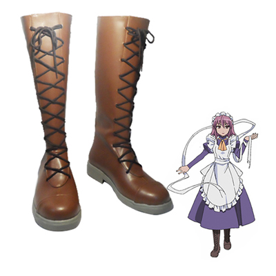 Shakugan no Shana Wilhelmina Carmel Cosplay Shoes UK