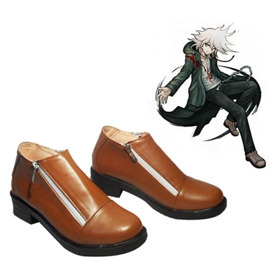 Zapatos Danganronpa 2: Goodbye Despair Komaeda Nagito Cosplay Botas