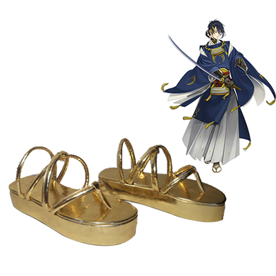 Touken Ranbu Online Mikazuki Munechika Faschings Stiefel Cosplay Schuhe