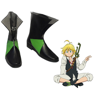 The Seven Deadly Sins Dragon's Sin of Wrath Meliodas Cosplay Sko Karneval Støvler