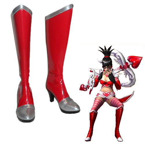 League of Legends Vayne Chaussures Carnaval Cosplay
