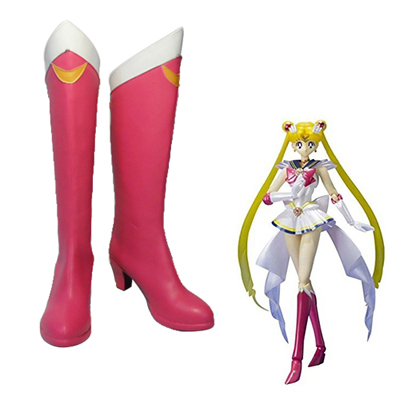 Sailor Moon Crystal Usagi Tsukino Faschings Stiefel Cosplay Schuhe