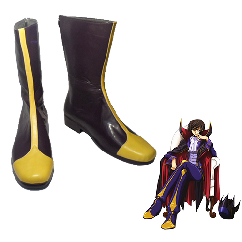 Code Geass Lelouch Lamperouge ZERO Chaussures Carnaval Cosplay