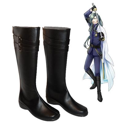 Touken Ranbu Online Nikkari Aoe Faschings Stiefel Cosplay Schuhe