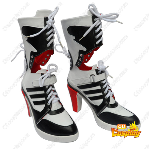 Suicide Squad DC Comics Harleen Quinzel Cosplay Shoes