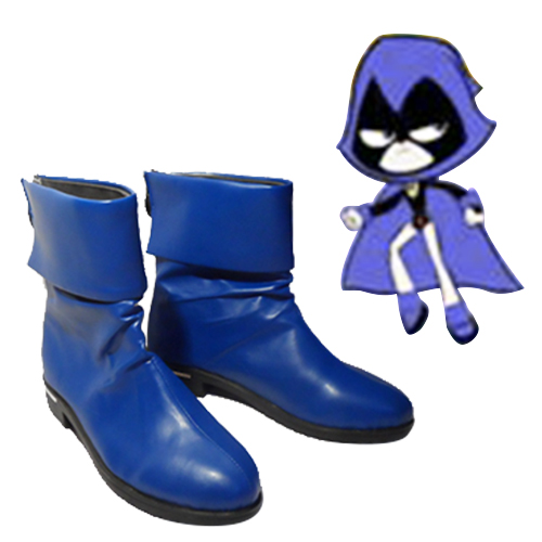 Teen Titans Raven Cosplay Shoes