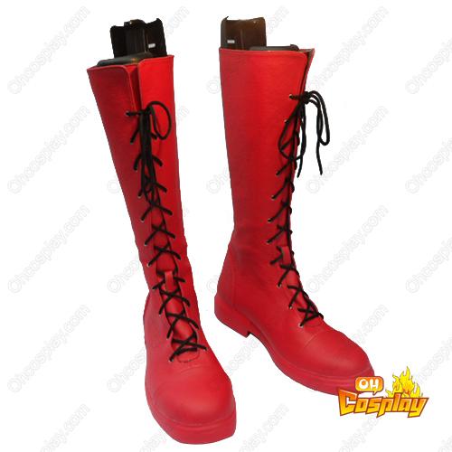 Puella Magi Madoka Magica Kaname Madoka Faschings Stiefel Cosplay Schuhe