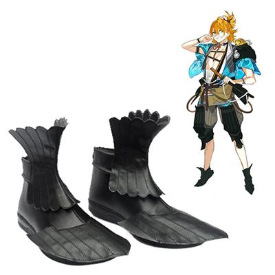 Touken Ranbu Online Urashima Kotetsu Cosplay Sko Karneval Støvler