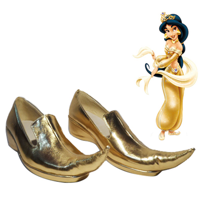Aladdin Lamp Jasmine Cosplay Shoes