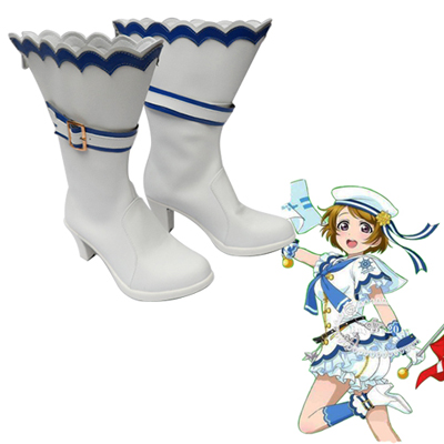 Love Live! Hanayo Koizumi Navy Activities Suit Cosplay Shoes UK