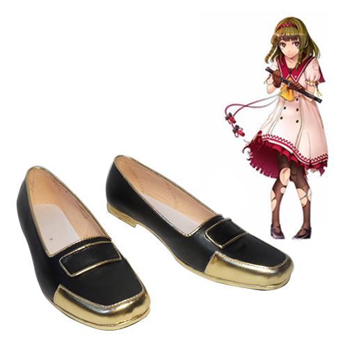 Shinken!! Hasebe shikiri Cosplay Sko Karneval Støvler