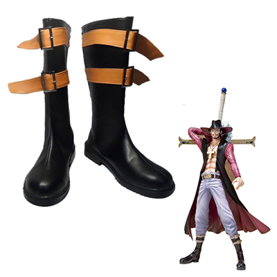 One Piece Dracule Mihawk Cosplay Boots