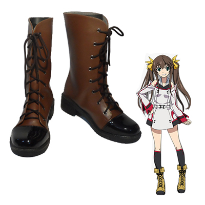 Infinite Stratos Huang Lingyin Cosplay Shoes UK