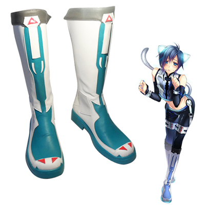 Vocaloid Hatsune Miku Kagamine Rin/Len Electronic Cat Cosplay Shoes