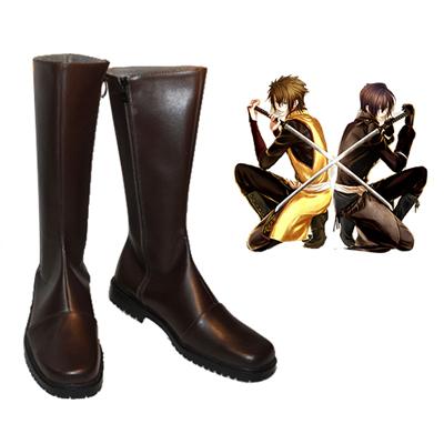 Hakuouki Okita Souji Faschings Stiefel Cosplay Schuhe