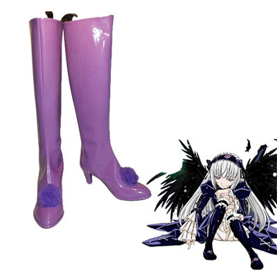 Rozen Maiden Rose quartz Faschings Stiefel Cosplay Schuhe