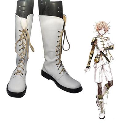 Touken Ranbu Online Monoyoshi Sadamune Faschings Stiefel Cosplay Schuhe