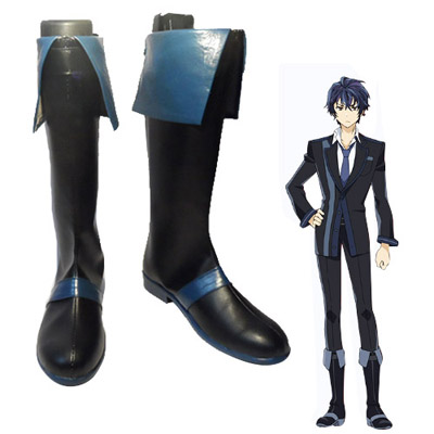 Zapatos Black Bullet Satomi Rentaro Cosplay Botas