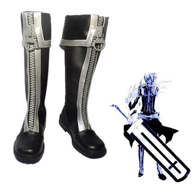 D.Gray-man Allen Walker Faschings Stiefel Cosplay Schuhe