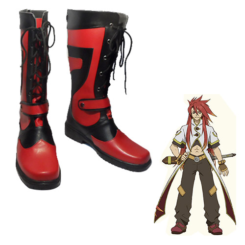 Tales of the Abyss Luke fone Fabre Faschings Stiefel Cosplay Schuhe
