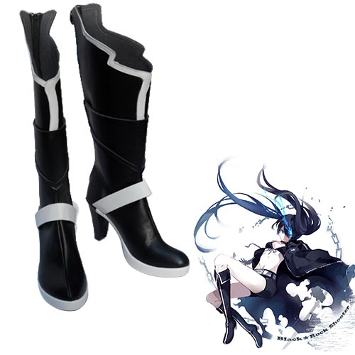 Vocaloid Hatsune Miku Black Rock Shooter Huke Chaussures Carnaval Cosplay
