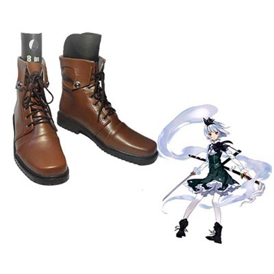 TouHou Project Youmu Konpaku Cosplay Shoes