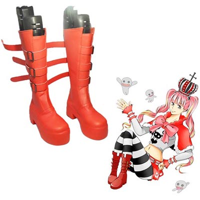 One Piece Perona Chaussures Carnaval Cosplay