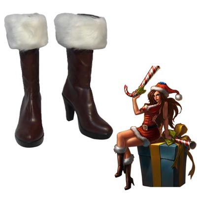 Zapatos League of Legends Miss Fortune Cosplay Botas