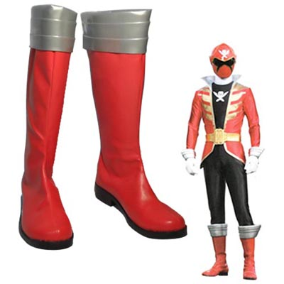 Zapatos Kaizouku Sentai Gokaijia Captain Marvelous Cosplay Botas