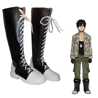 Gangsta Nicolas Brown Cosplay Shoes UK