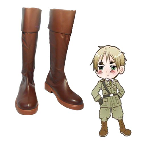 Axis Powers Hetalia UK Arthur Kirkland Cosplay Laarzen