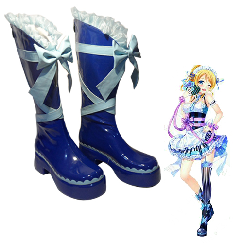 LoveLive! Eli Ayase Valentine Maid Faschings Stiefel Cosplay Schuhe