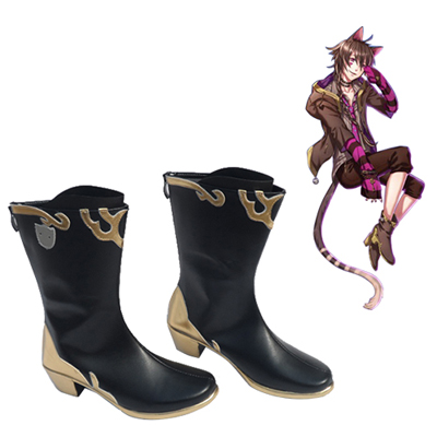 Zapatos 100 Sleeping Princes The Kingdom of Dreams Cheshire Cat Cosplay Botas