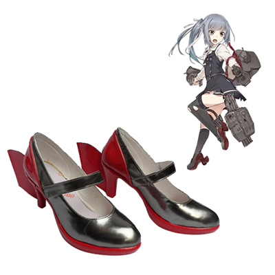 Kantai Collection Kasimi Faschings Stiefel Cosplay Schuhe