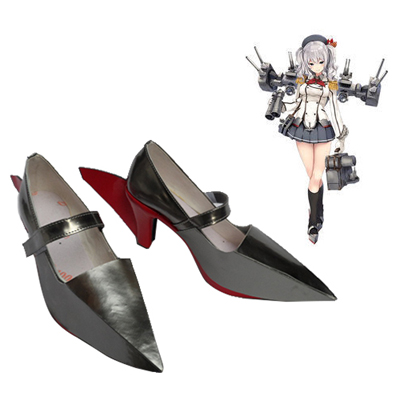 Zapatos Kantai Collection kashima Cosplay Botas