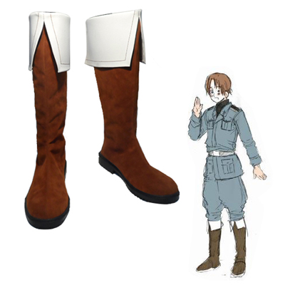 Axis Powers Hetalia Feliciano Vargas Faschings Stiefel Cosplay Schuhe