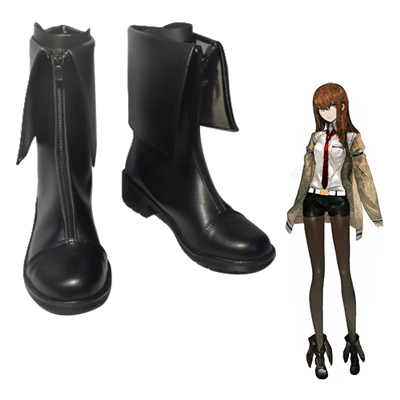 Zapatos Steins;Gate Makise Kurisu Cosplay Botas