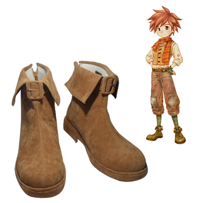 Zapatos Harvest Moon Fritz Cosplay Botas