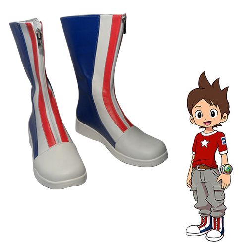 Yo-kai Watch Keita Amano Faschings Stiefel Cosplay Schuhe